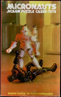 Micronauts Puzzle