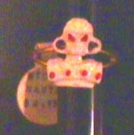 Micronauts Force Commander Ring