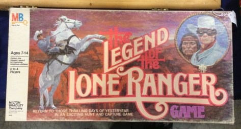 Lone Ranger Board Game