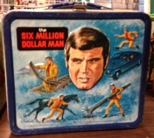 Six Million Dollar Man Lunch Box