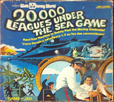 20,000 Leagues Under the Sea Board Game