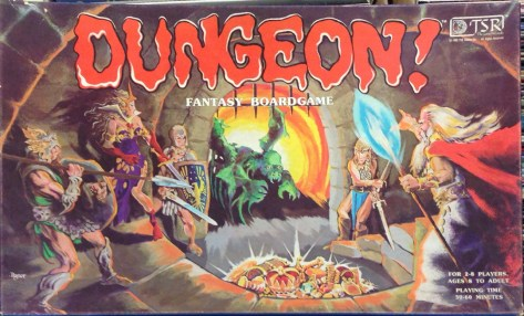 Dungeon – a Dungeons & Dragons Board Game