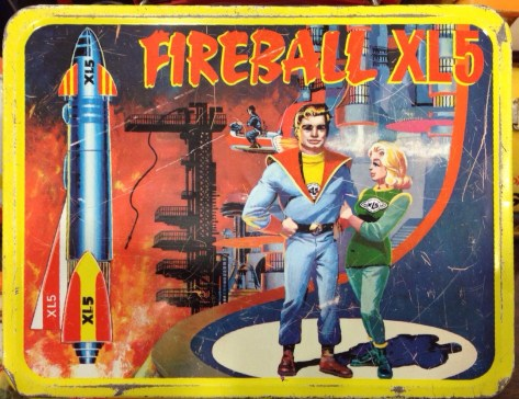 Fireball XL5 Lunch Box