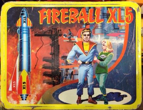 Fireball XL5 Lunch Box