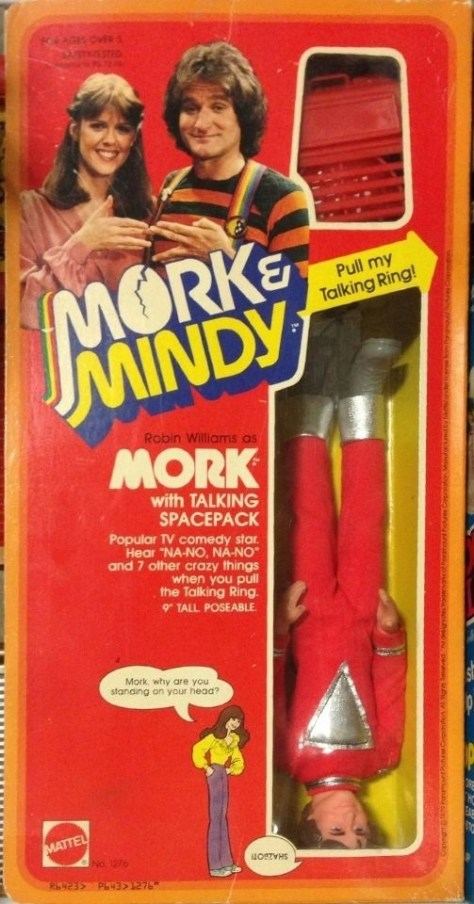 Mork and Mindy Figure