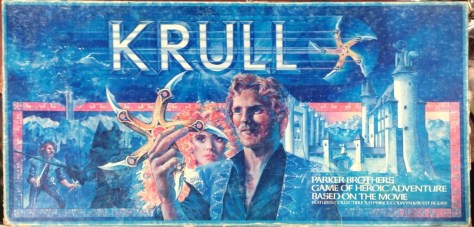Krull Board Game