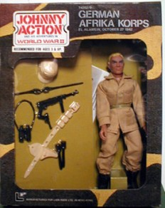 Johnny Action German Afrika Korps