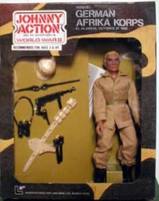 Johnny Action German Afrika Korps