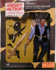 Johnny Action French Resistance Fighter