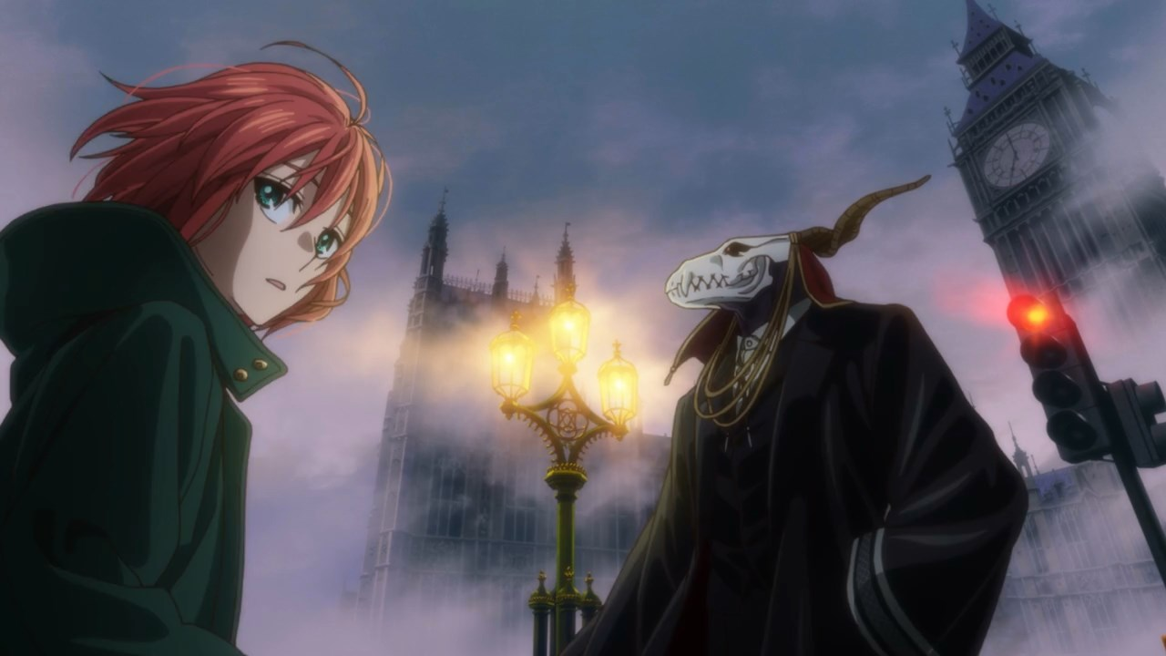 London Full Hd Wallpaper The Ancient Magus Bride Anime Early Impressions Funblog