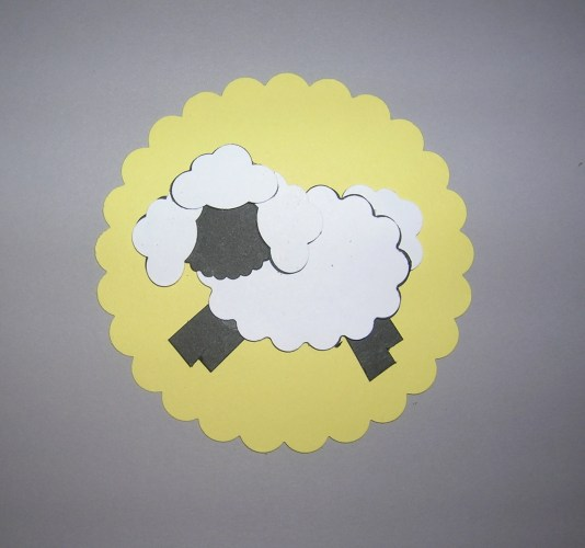 Punch Art Sheep