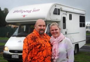 Mat and Kylie from Taranaki