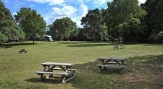 Peninsula Campground. Plenty of room.