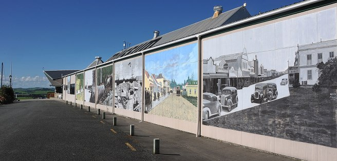 Amazing murals on the wall
