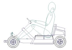 Home built (DIY) small electric buggies and go kart plans