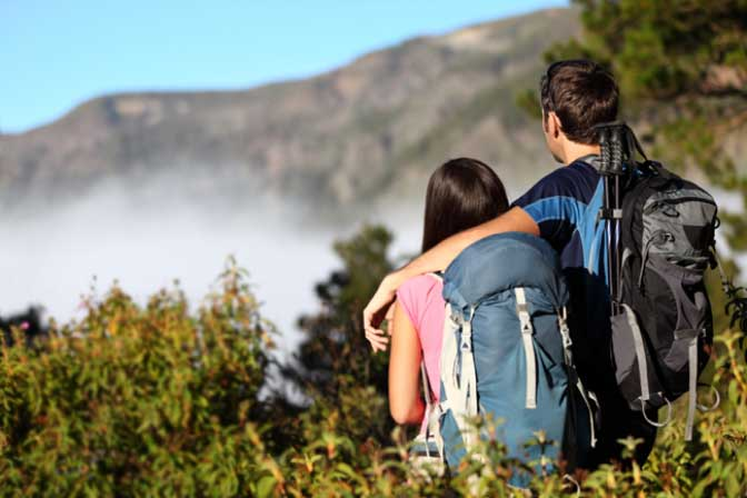 Travel with your partner! This will get you closer