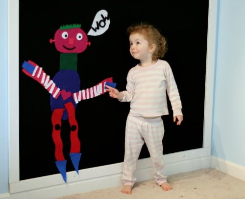 Homemade Toys  Learning Activities from Felt  Buggy and
