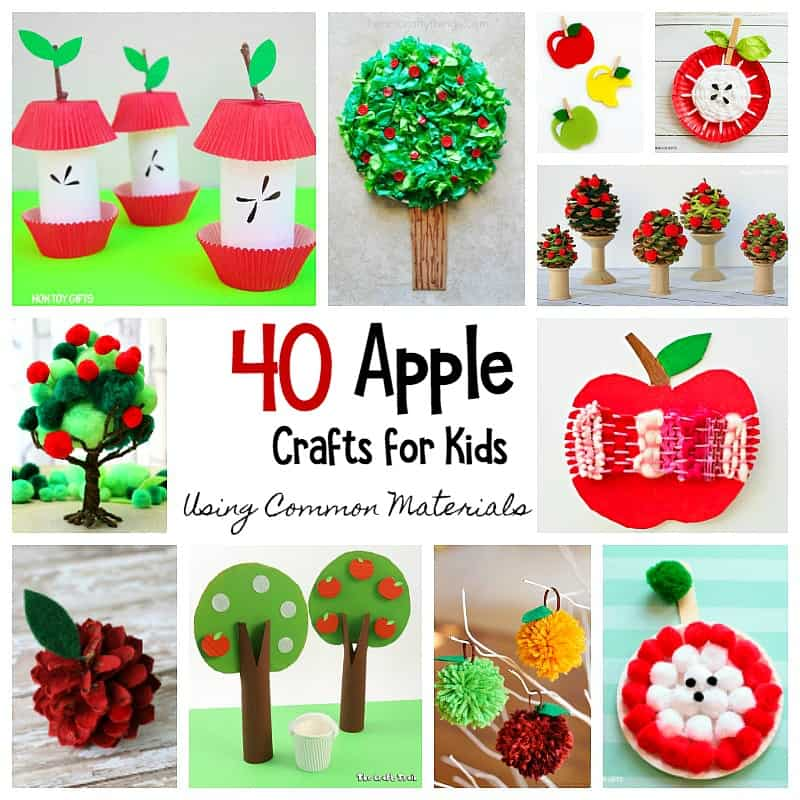 40 apple crafts for