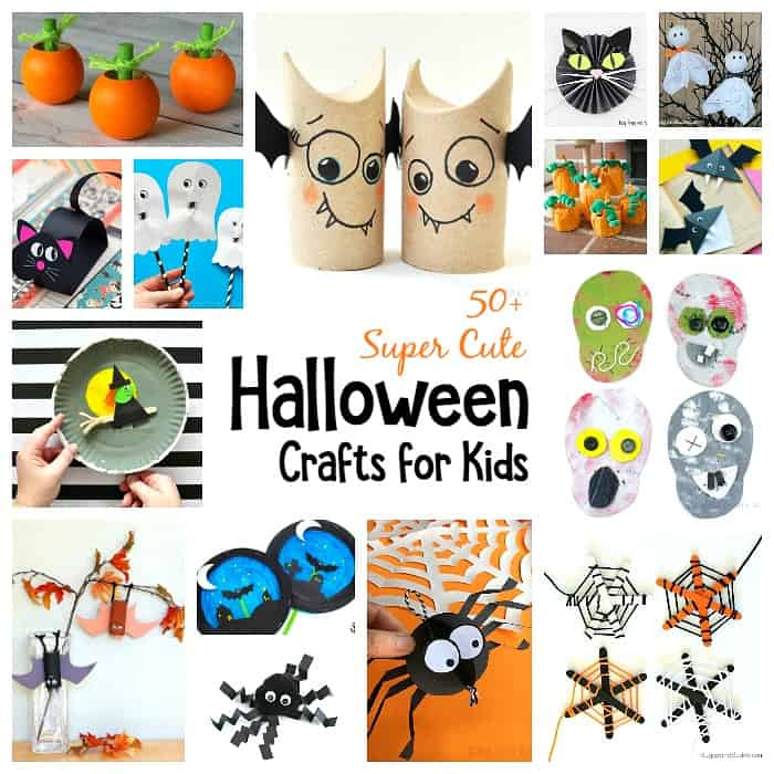 50 Super Cool Halloween Crafts For Kids Buggy And Buddy