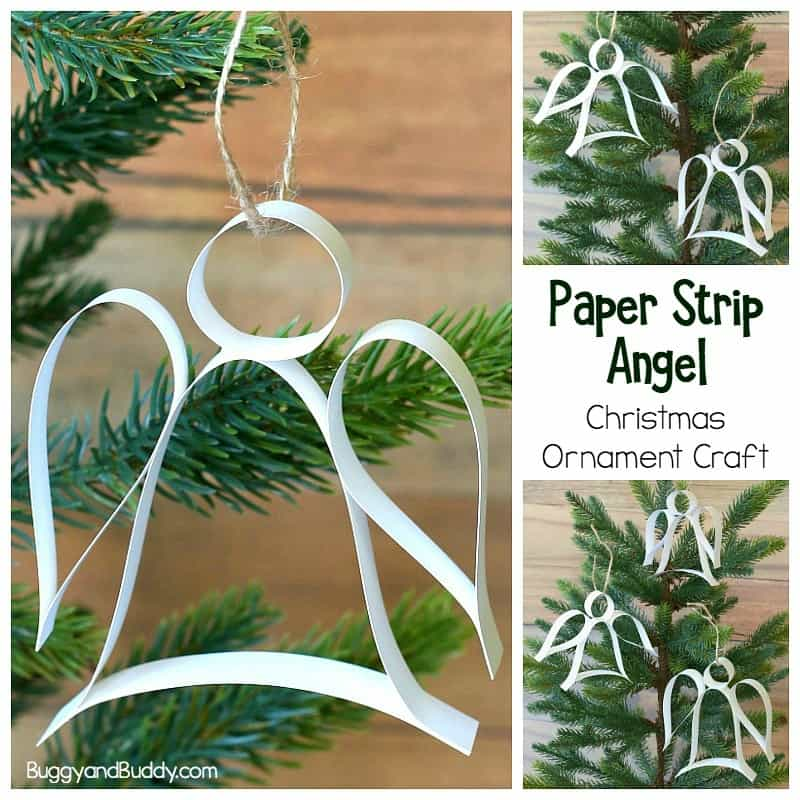 Paper Craft Christmas Ornaments