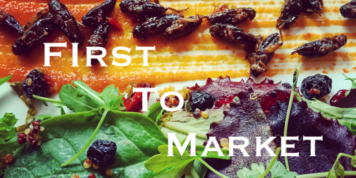 First To Market – What it Means for Edible Insect Companies