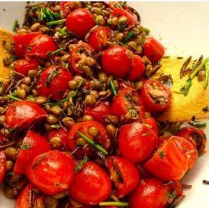 Mealworm Lentil Salad Zoom