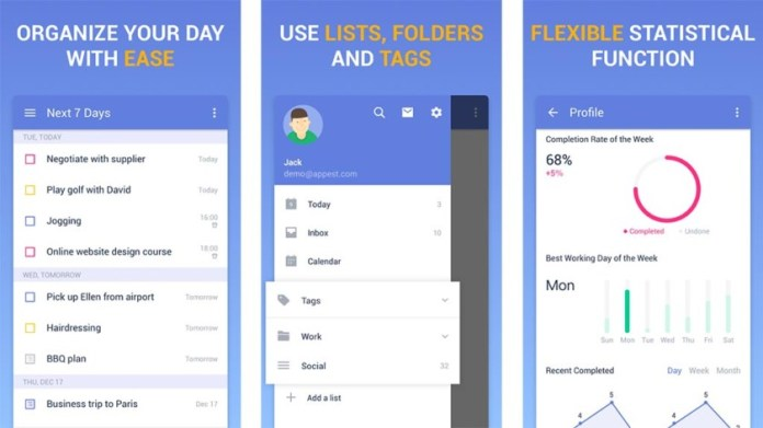 Qual é o melhor app de saúde .. TickTick?
