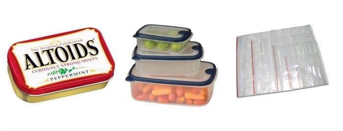 bug out bag food containers