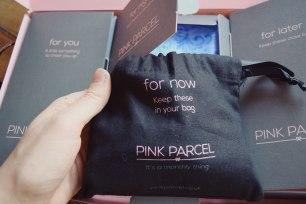 For your bag Pink Parcel