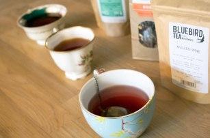 Trying Christmas Tea Blends