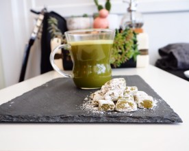 Vegan Matcha Turkish Delight