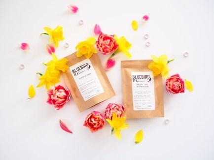 Bluebird tea co Spring tea