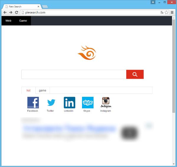 piesearch.com hijacker