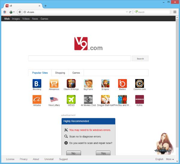 v9.com hijacker