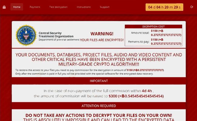 cry ransomware virus