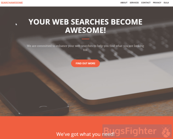 search awesome adware