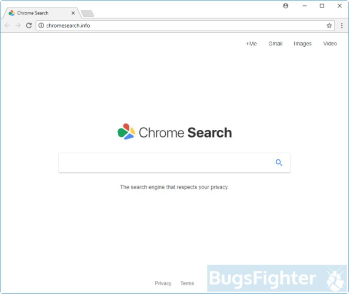 Chromesearch.info hijacker