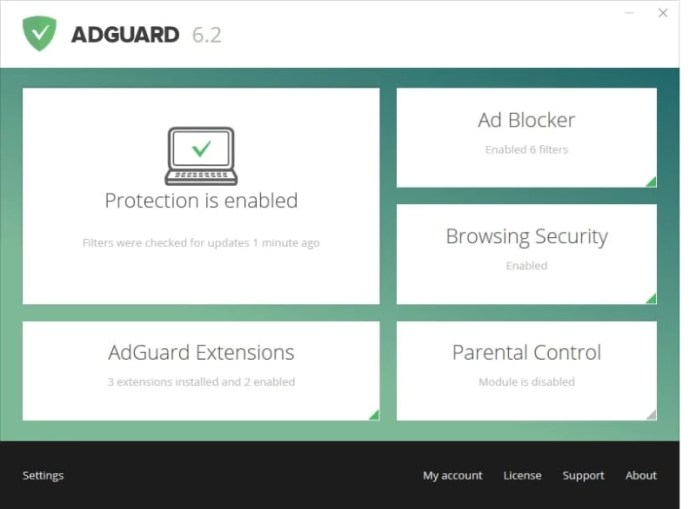 bloqueur de pop-up adguard