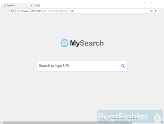 My-search.com hijacker