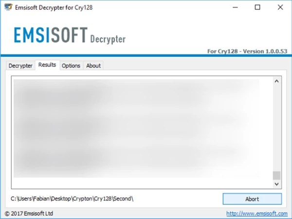 emsisoft cry9 ransomware decryptor