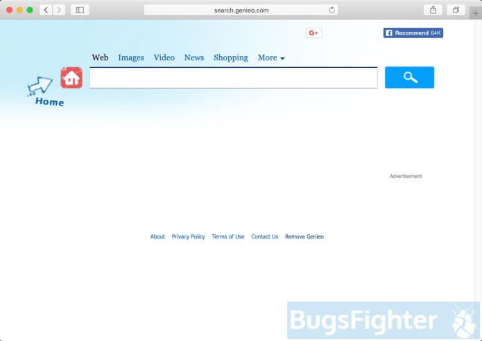 search.genieo.com hijacker