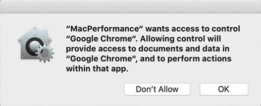 MacPerformance pop-up