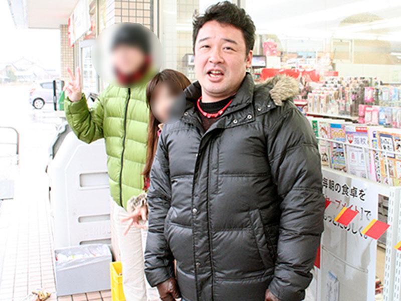 体重93kg 2011年:佐渡島にて