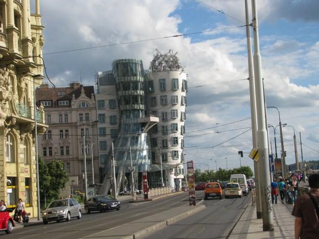 Prague Fred and Ginger House blog
