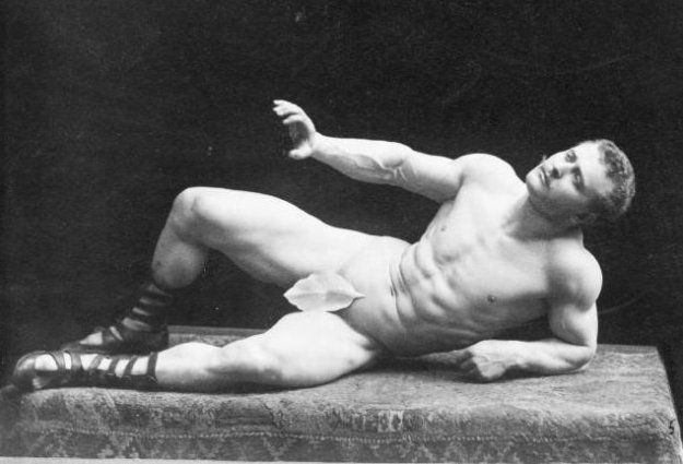 Photo Six (Eugen Sandow) by By G.dallorto - File:Falk, Benjamin J. (1853-1925) - Eugen Sandow (1867-1925)- 1894 .jpg, Public Domain, https://commons.wikimedia.org/w/index.php?curid=23255977