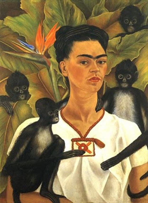 PHoto Five from http://theconversation.com/heres-looking-at-frida-kahlos-self-portrait-with-monkeys-61141