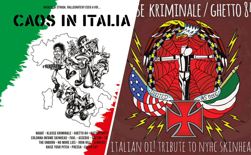caos in italia Italian Oi! Tribute To NYHC Skinheads skinhead sounds