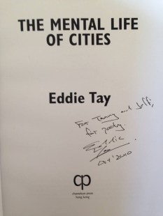 The Mental Lives of Cities by Eddie Tay