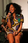 LOS ANGELES, CA - NOVEMBER 27: Singer/songwriter Solange attends a listening party for her new album 'True' at Sonos Studio on November 27, 2012 in Los Angeles, California. (Photo by Imeh Akpanudosen/Getty Images)