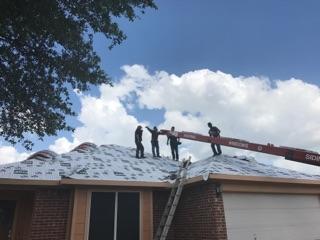 Roofing Job Site Victoria